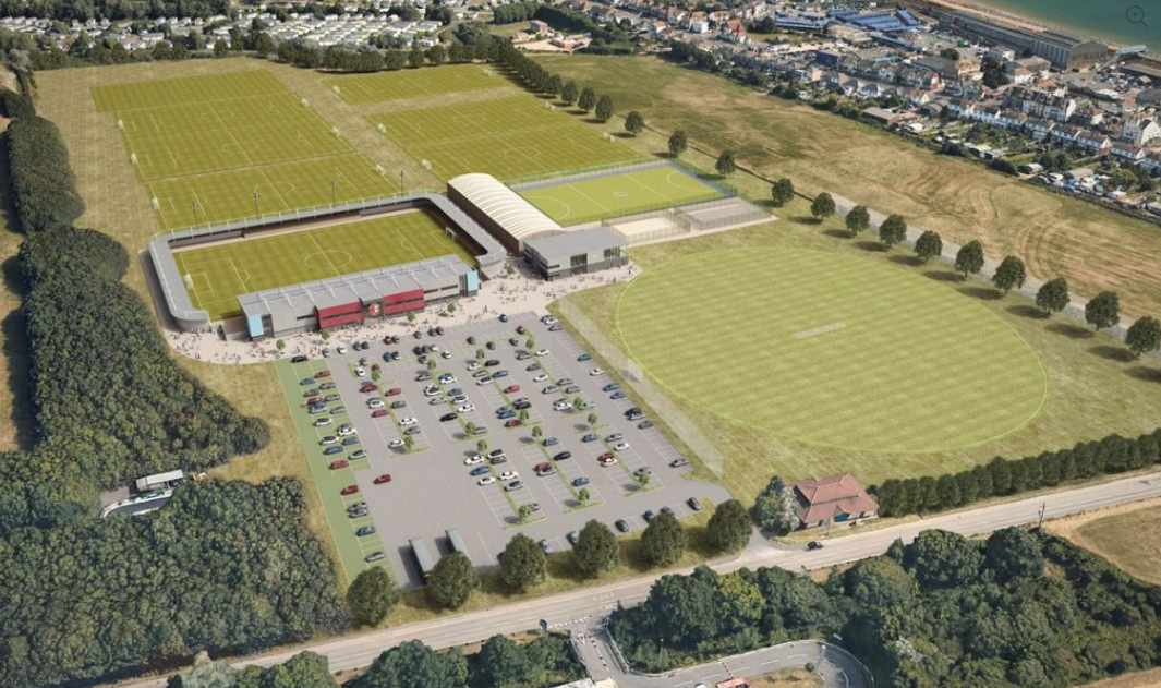 Update on Combe Valley Sports Village