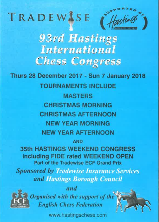 93rd International Chess Congress
