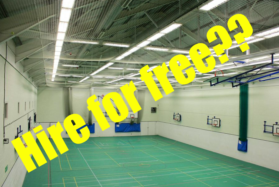 Sports hall free